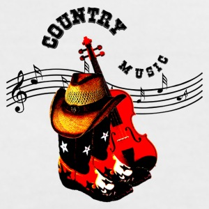 country music Tee shirts - T-shirt contraste Femme