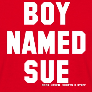 Boy named Sue (white) T-Shirts - Männer T-Shirt