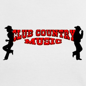 club country music Camisetas - Camiseta contraste mujer