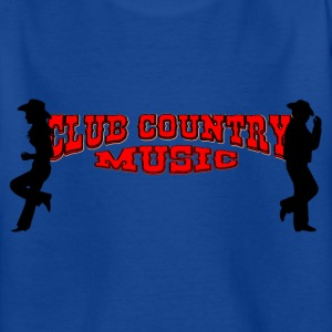 club country music T-shirts - Teenager-T-shirt