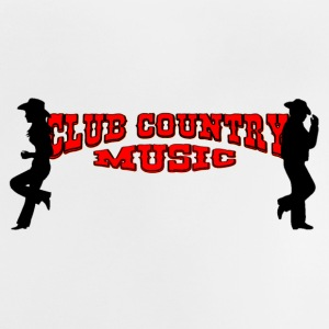 club country music Camisetas - Camiseta bebé
