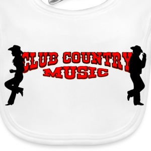 club country music Accessoarer - Ekologisk babyhaklapp