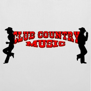 club country music bolsas - Bolsa de tela