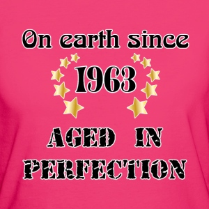 on earth since 1963 T-shirts - Ekologisk T-shirt dam