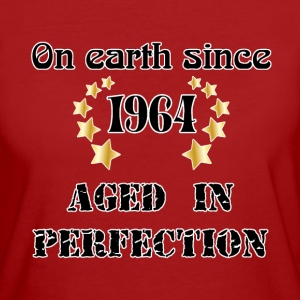 on earth since 1964 T-shirt - T-shirt ecologica da donna