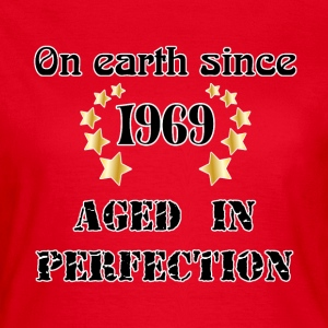 on earth since 1969 T-shirts - Dame-T-shirt