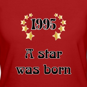 1995 - a star was born T-shirts - Ekologisk T-shirt dam
