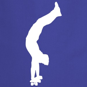 Skateboarder (handstand) (Vector) - Cooking Apron
