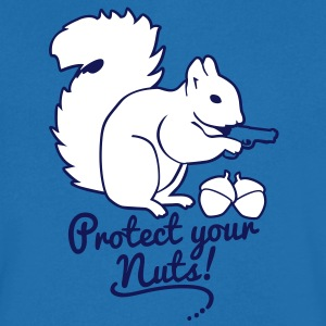 protect your nuts T-Shirts - T-shirt Homme col V