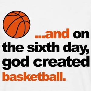 Sixth Day - Basketball T-Shirts - Men's T-Shirt