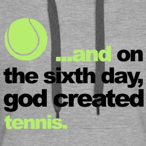 Sixth Day - Tennis Sweat-shirts - Sweat-shirt à capuche Premium pour femmes