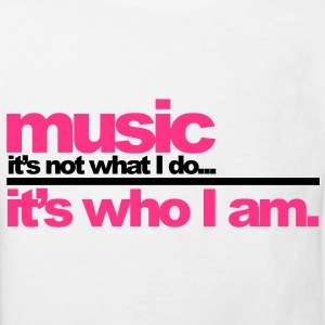 Music - Who I am Kinder shirts - Kinderen Bio-T-shirt