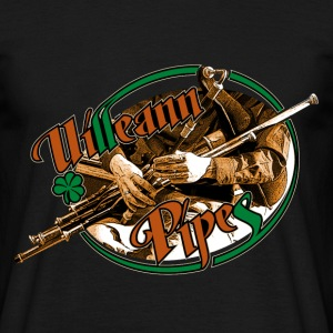 uillean pipes - Men's T-Shirt