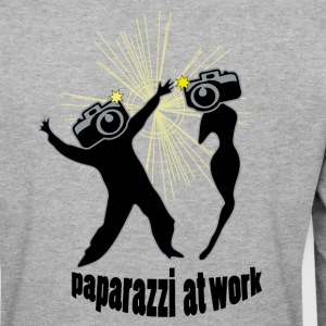 paparazzi at work by patjila Sweat-shirts - Sweat-shirt Homme