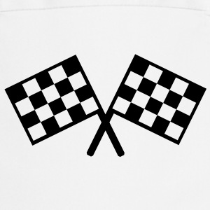 flags - car race  Aprons - Cooking Apron