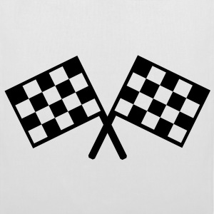 flags - car race Bags  - Tote Bag