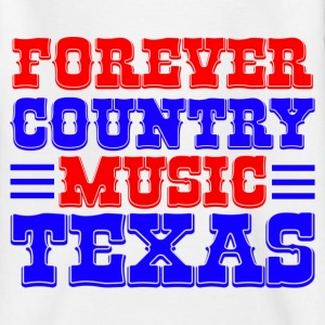 forever country music texas Skjorter - T-skjorte for tenåringer