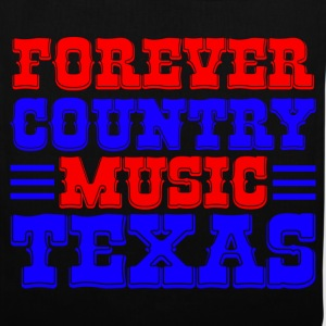 forever country music texas Tassen - Tas van stof