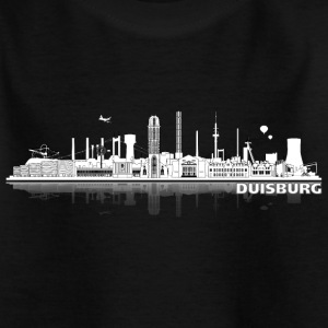 duisburg_city_lines02 Kinder T-Shirts - Teenager T-Shirt