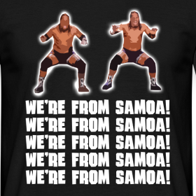 Design ~ We're From Samoa! T-Shirt