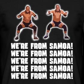 Design ~ We're From Samoa! T-Shirt