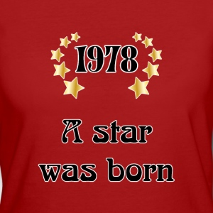 1978 - a star was born Tee shirts - T-shirt Bio Femme