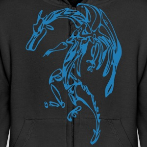 Kids-Dragon-Cape-Shirt - Kinder Premium Kapuzenjacke