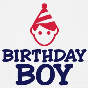 Birthday Boy 3 (2c)++ T-shirts - Mannen T-shirt