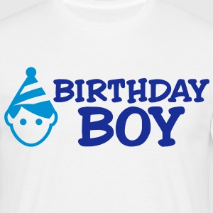 Birthday Boy 2 (2c)++ T-shirts - Mannen T-shirt