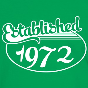 Birthday-Shirt - Geburtstag - Established 1972 (de) T-Shirts - Männer Kontrast-T-Shirt