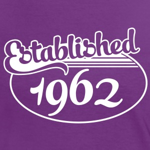Birthday-Shirt - Geburtstag - Established 1962 (es) Camisetas - Camiseta contraste mujer