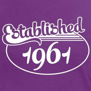 Birthday-Shirt - Geburtstag - Established 1961 (es) Camisetas - Camiseta contraste mujer