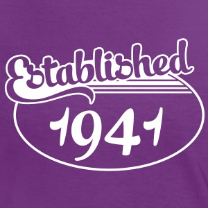 Birthday-Shirt - Geburtstag - Established 1941 (fr) Tee shirts - T-shirt contraste Femme