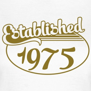 Birthday-Shirt - Geburtstag - Established 1975 (uk) T-Shirts - Women's T-Shirt