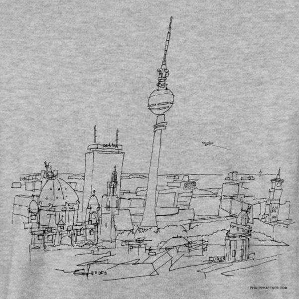 t-shirt Berlin Panorma