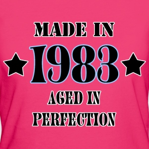 1983 T-Shirts - Frauen Bio-T-Shirt