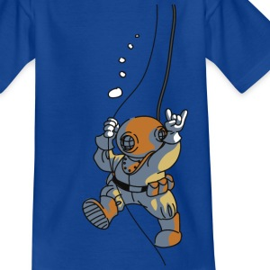diver old fashioned Tee shirts - T-shirt Enfant