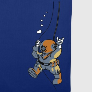 diver old fashioned Bags  - Tote Bag