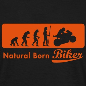 evolution_biker T-Shirts - Men's T-Shirt