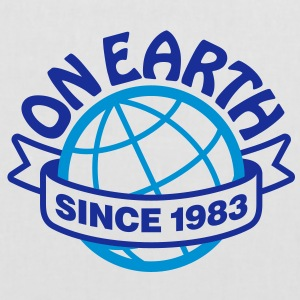 On Earth Since 1983 2 (2c)++ Vesker - Stoffveske