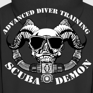 Scubademon Jacket Support Diver Economy - Men's Premium Hooded Jacket