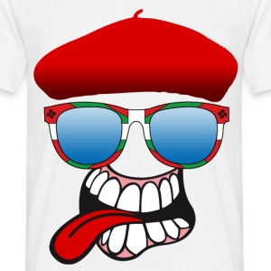 basque smiley 7 Tee shirts - T-shirt Homme