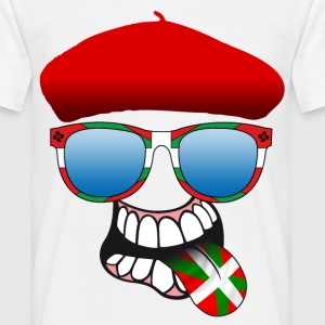 basque smiley 6 Tee shirts - T-shirt Homme