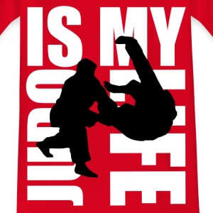 judo is my life Skjorter - T-skjorte for tenåringer