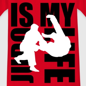 judo is my life Tee shirts Enfants - T-shirt Ado