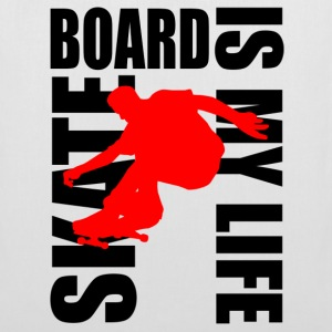 skateboard is my life Sacs - Tote Bag