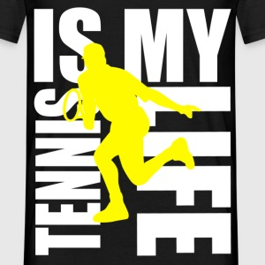 tennis is my life Tee shirts - T-shirt Homme