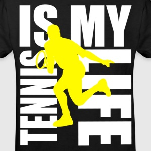 tennis is my life Shirts - Kinderen Bio-T-shirt