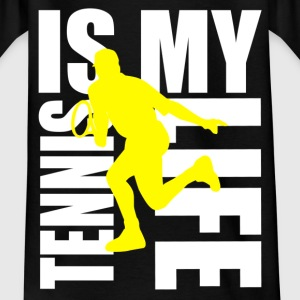 tennis is my life Shirts - Teenager T-shirt