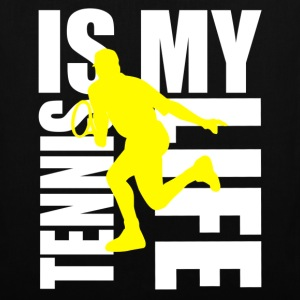 tennis is my life Tassen - Tas van stof